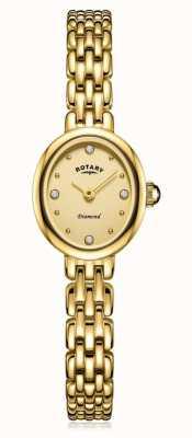 Rotary | pulseira de senhora banhado a ouro | LB05151/03/D