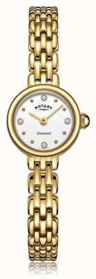 Rotary | pulseira de senhora banhado a ouro | LB05153/02/D