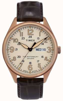 Timex | waterbury data do dia tradicional relógio | TW2R89200D7PF