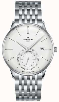 Junghans Meister mega pequeno segundo | pulseira de aço inoxidável | 058/4900.46