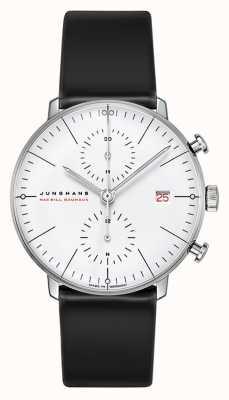 Junghans Edição limitada 18k ouro branco max bill 100 ano bauhaus 027/9900.02