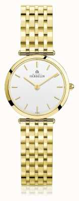 Michel Herbelin | mulheres | épsilon | pulseira extra plana de ouro pvd | 17116/BP11