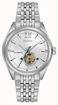 Citizen | mens assinatura grand clássico automático | aço inoxidável NB4000-51A