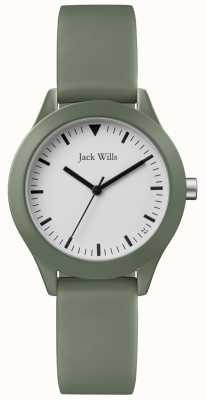 Jack Wills | pulseira de borracha cinza senhoras | JW008FGFG