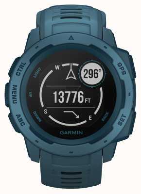 Garmin Pulseira de silicone gps ao ar livre azul à beira do lago instinto 010-02064-04