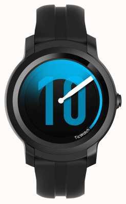 TicWatch E2 | sombra smartwatch | pulseira de silicone preta 131586-WG12026-BLK