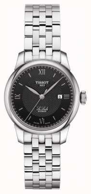 Tissot | womens le locle automático | pulseira de aço inoxidável | T0062071105800