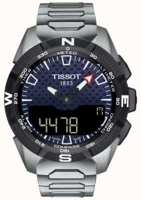 Tissot | mens t-touch expert ii solar | pulseira de titânio | T1104204405100