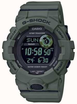 Casio | verde choque g | bluetooth | relógio inteligente GBD-800UC-3ER