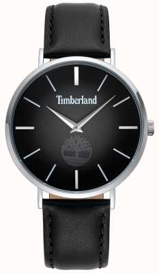 Timberland | mens rangeley | pulseira de couro preto | mostrador preto | 15514JS/02