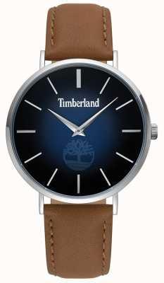 Timberland | mens rangeley | couro marrom | mostrador azul | 15514JS/03