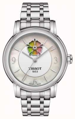 Tissot Pulseira coração em aço inoxidável powermatic 80 para mulher T0502071111705