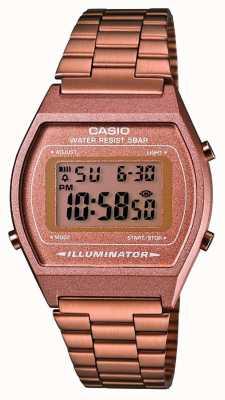 Casio Unisex | casio | vintage | Rosa ouro B640WC-5AEF