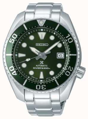 Seiko Prospex mergulhador sumô verde masculino aço inoxidável SPB103J1