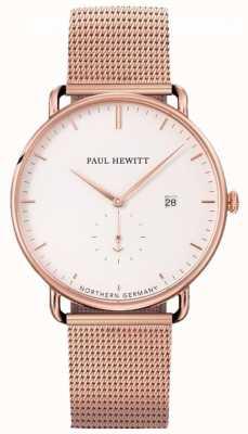 Paul Hewitt Análogo de aço inoxidável para homem PH-TGA-R-W-4S