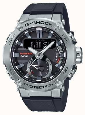 Casio G-steel g-shock bluetooth link pulseira de borracha 200m wr GST-B200-1AER