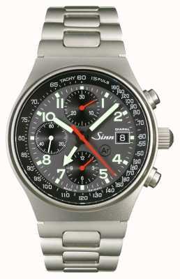 Sinn 144º diapal o cronógrafo da hora mundial 144.068