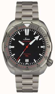 Sinn Modelo t1 (ezm 14) relógio de mergulho 1014.010