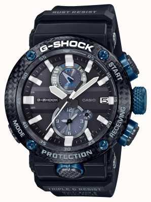 Casio Protetor de núcleo de carbono masculino g-shock gravitymaster bluetooth GWR-B1000-1A1ER