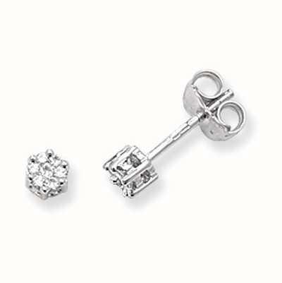 Diamond Earrings ED112W