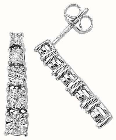 Diamond Earrings ED160W
