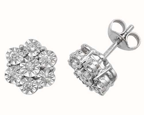 Diamond Earrings ED161W