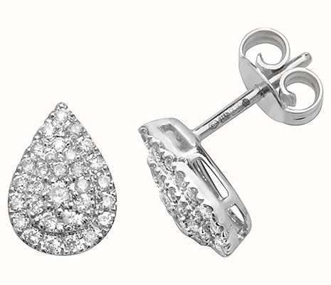 Diamond Earrings ED307W