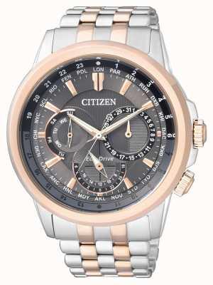 Citizen | eco-drive para homem | pulseira de aço inoxidável | BU2026-65H