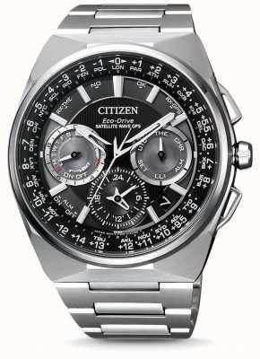 Citizen | GPS de onda por satélite para homem eco-drive | pulseira de titânio | CC9008-84E
