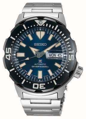 Seiko Mergulhadores automáticos monstro Prospex | pulseira de aço inoxidável SRPD25K1