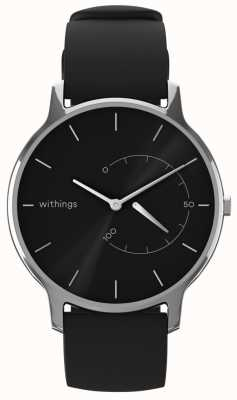 Withings Mova atemporal chique - preto, silicone preto HWA06M-TIMELESS CHIC-MODEL 1-RET-INT