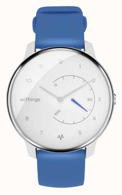 Withings Move ecg | branco e azul | rastreador de atividade HWA08-MODEL 2-ALL-INT