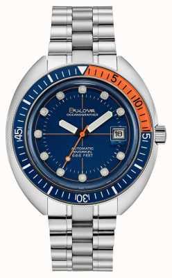 Bulova | edição limitada | oceanógrafo mergulhador do diabo | automático | 96B321