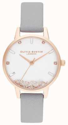 Olivia Burton | mulheres | o relógio que deseja | cinta cinza | OB16SG08