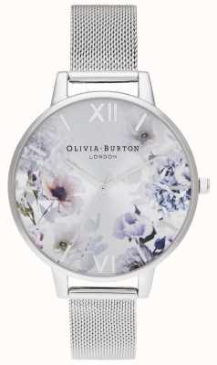 Olivia Burton | mulheres | luz solar florals | pulseira de malha de aço | OB16EG117