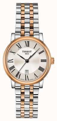 Tissot | carson premium lady | pulseira de dois tons | T1222102203301