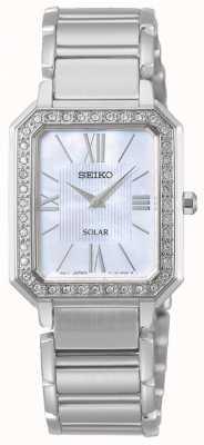 Seiko | série conceitual | clássico | solar | pulseira de dois tons | SUP427P1