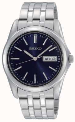 Seiko Relógio de pulseira de aço inoxidável para homens SGGA41P1