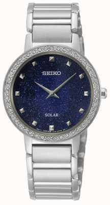 Seiko | série conceitual | solar da mulher | conjunto de cristal SUP433P1