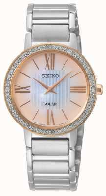 Seiko | série conceitual | senhoras | conjunto de cristal | SUP432P1