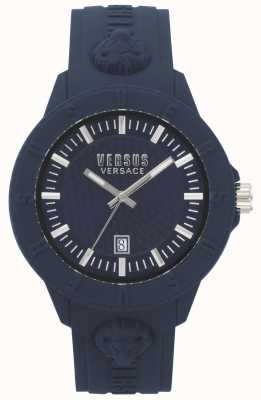 Versus Versace | mulheres | tóquio r | silicone azul | VSPOY2118
