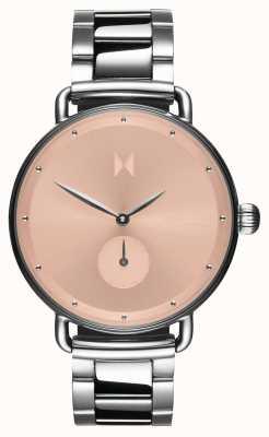 MVMT Bloom blush dhalia | aço inoxidável | discagem rosa D-FR01-S