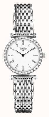 Longines | o grande clássico de longines | 24mm para mulher | quartzo L43410116