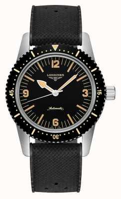Longines | herança de relógio de mergulhador de pele | de homem | suíço automático | L28224569
