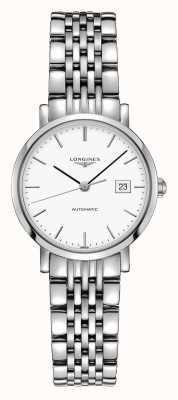 Longines | coleção elegante | 29 milímetros de mulheres | suíço automático | L43104126