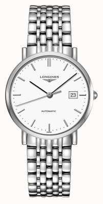 Longines | coleção elegante | 37mm masculino | suíço automático | L48104126