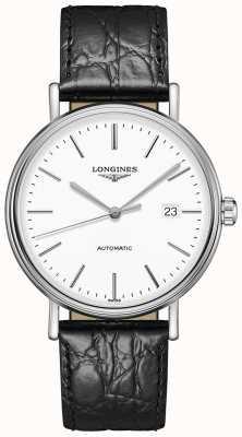 Longines Presença suíço automático | pulseira de couro preto L49224122
