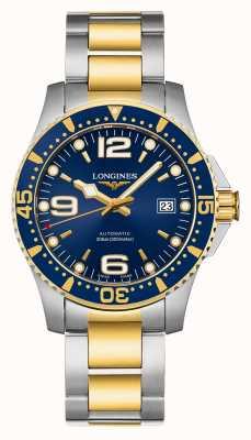Longines | esporte hydroconquest | 41mm para homem | suíço automático | L37423967
