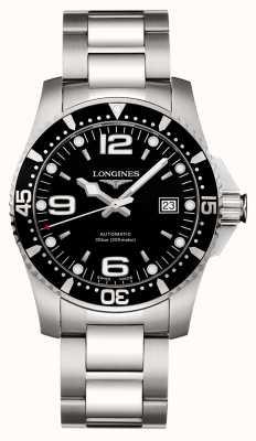 Longines | esporte hydroconquest | 41mm para homem | suíço automático | L37424566