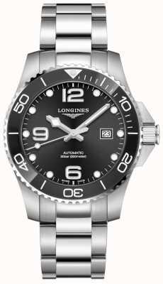 Longines | esporte hidroconquest | 43mm para homem | suíço automático | L37824566